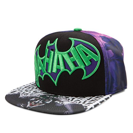 DC Comics The Joker Dye Sublimated Snapback Hat