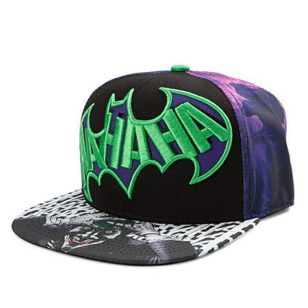 Joker Hat (DC Comics The Joker Dye Sublimated Snapback)