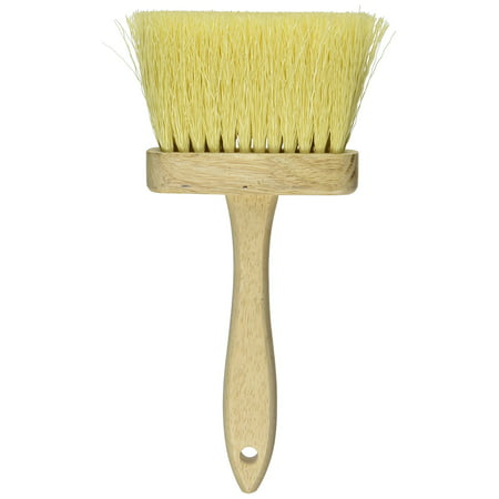 11937 E-Z Fit Tampico Colored Poly Masonry Brush, 4-3/4-Inch, Use with many liquid compounds for concrete blocks, basement walls, fences and.., By DQB Industries