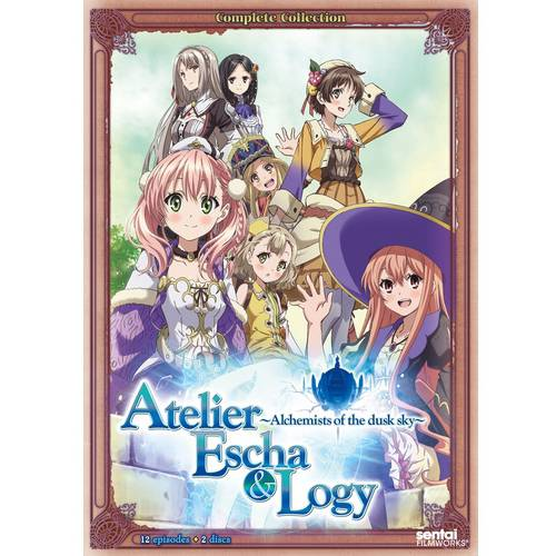 Atelier Escha & Logy: Alchemist Of The Dusk Sky - The Complete Collection (Japanese) (Widescreen)