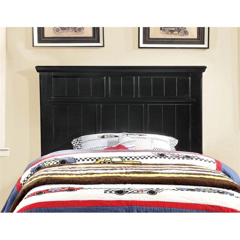 Furniture of America Jayleen Twin Panel Headboard in Black