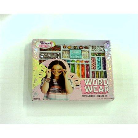 Wear Dzi Beads (It's So Me! Word Wear DIY Bead Jewelry Kit )