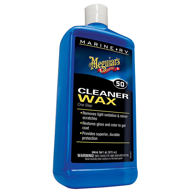 RV Trailer MEGUIARS WAX Boat// RV Boat//RV Pure Wax Car Wax