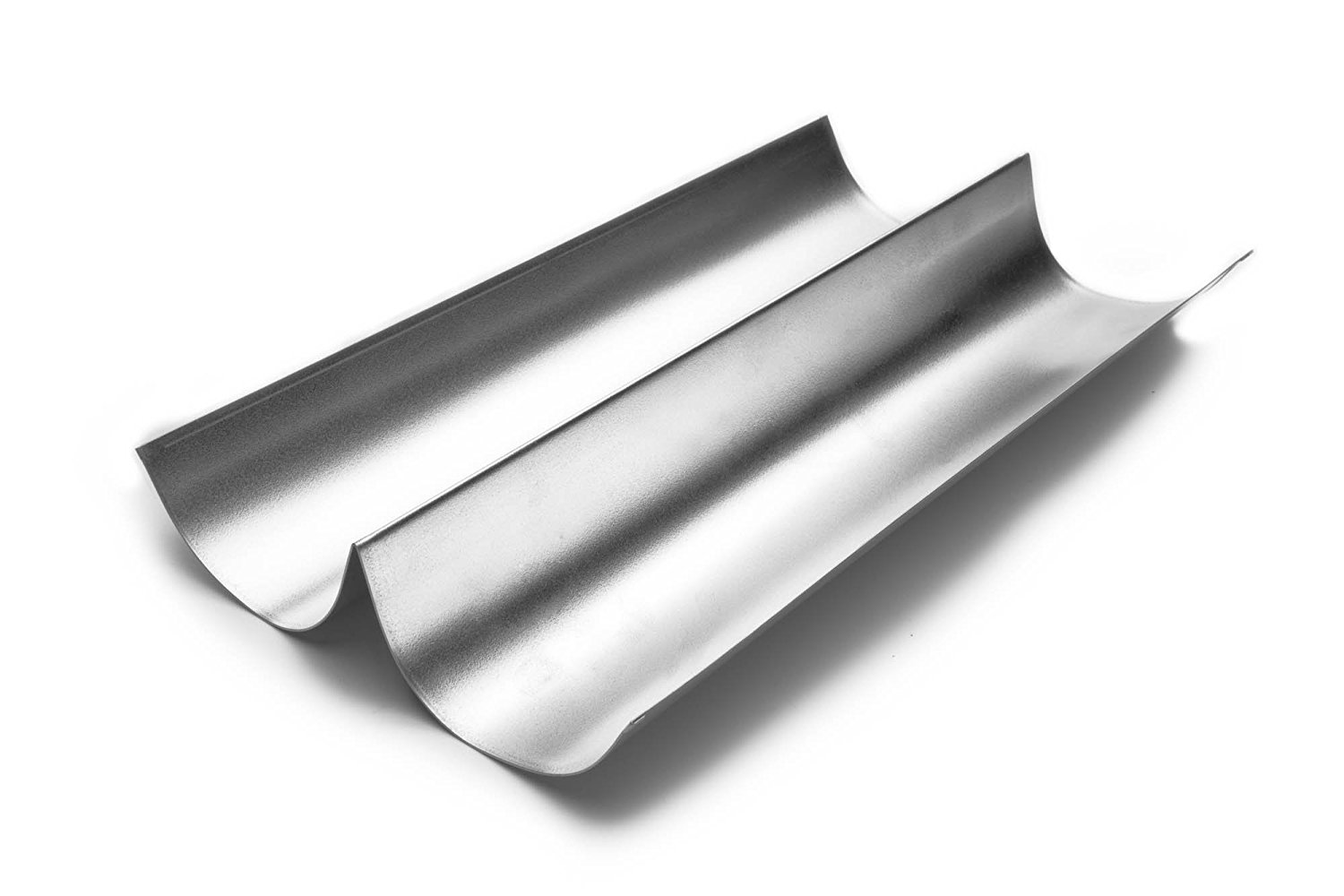 4629 Italian Bread Pan, Tin-Plated Steel, 15-InchConstructed of durable, sleek tin-plated steel By Fox Run by
