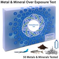 5Strands | Affordable Testing | Metals & Minerals Test | at Home Hair Analysis Kit | Tests Over 50 Metals & Minerals | Arsenic, Lead, Tin, Mercury, Copper | Results in 7-10 Days | 1 Pack