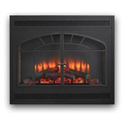Outdoor GreatRoom Rectangular Arch Built-In Electric Fireplace