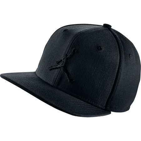 Jordan Jumpan Men's Snapback Hat Cap Black 619360-019