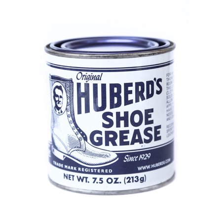 Huberd's Shoe Grease Beeswax Shoes/Leather Waterproof Conditioner Protector 7.5