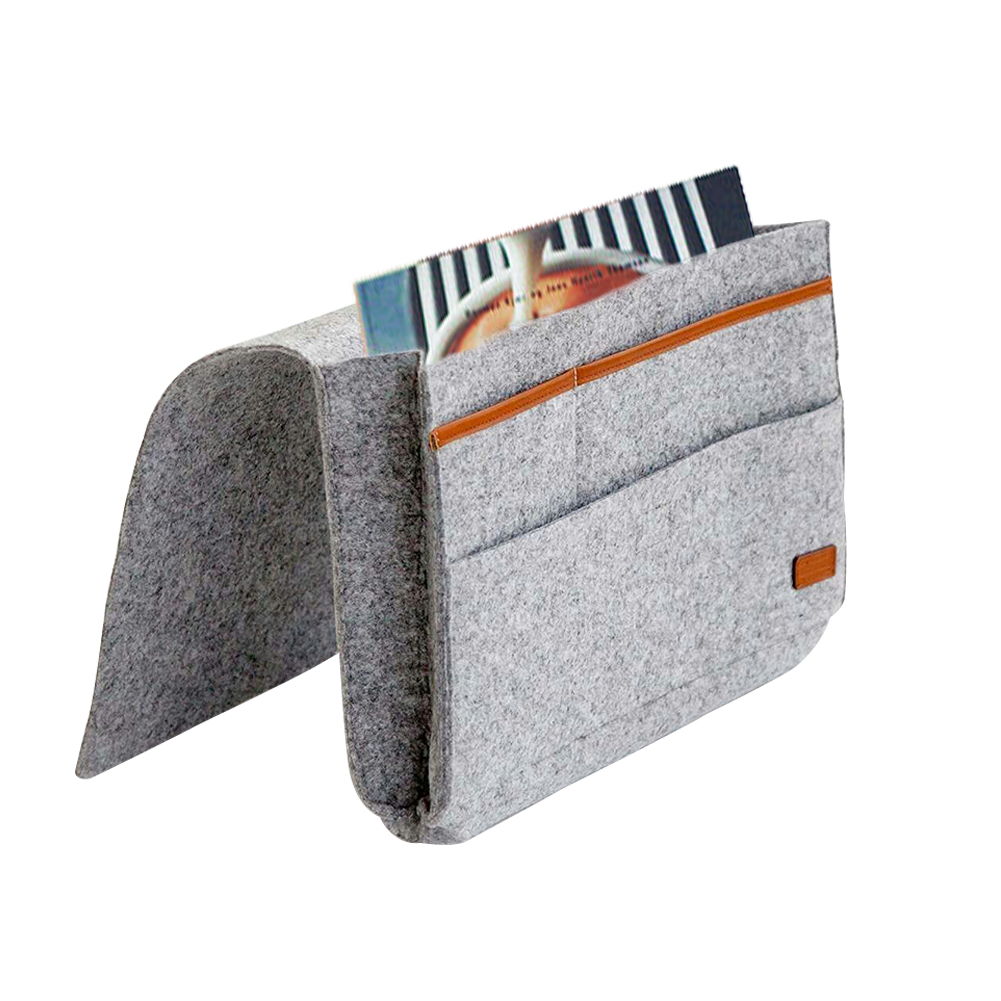Caddy Hanging Organizer Bedside Storage Bag Best For Headboards