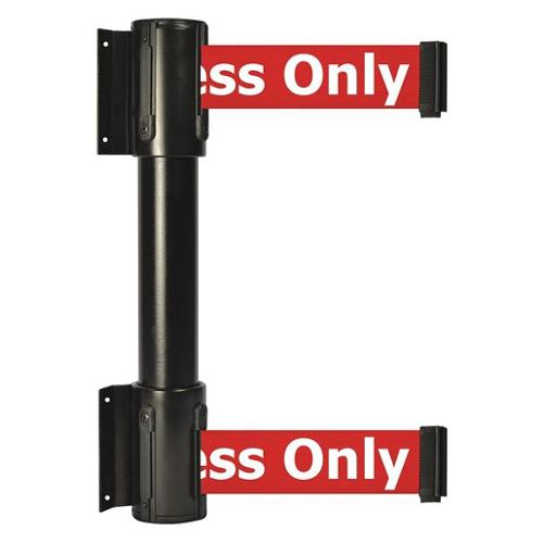 TENSATOR 896T2-33-STD-RAX-C Belt Barrier, 2 in.W, Black