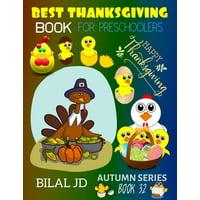 Autumn: Best Thanksgiving Book for Preschoolers: Coloring Books: Activity Books: Thanksgiving Books-Paperback (Paperback)
