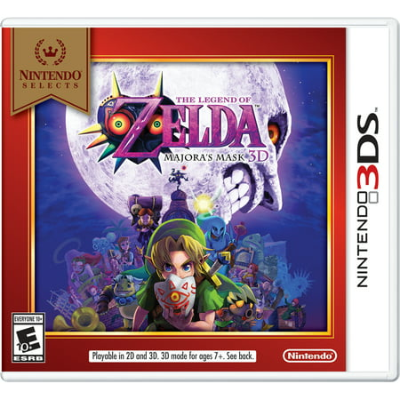 Nintendo Selects: The Legend of Zelda: Majora's Mask 3DS, Nintendo 3DS,