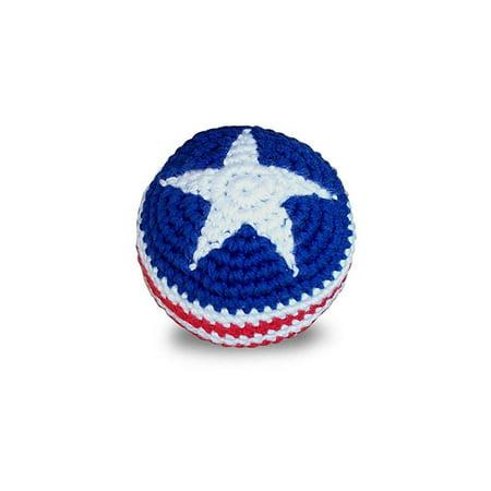 World Footbag Usa Flag Hacky Sack Footbag Walmartcom
