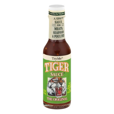 Corey Tiger ((3 Pack) Try Me Tiger Sauce The Original 5 OZ )