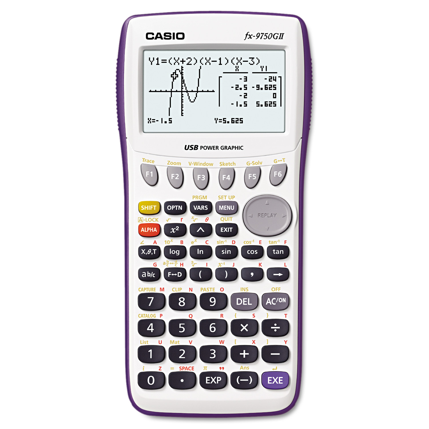 Casio 9750GII Graphing Calculator, 21-Digit LCD by Casio