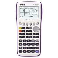 Casio FX-9750GII Graphing Calculator, Icon Based Menu