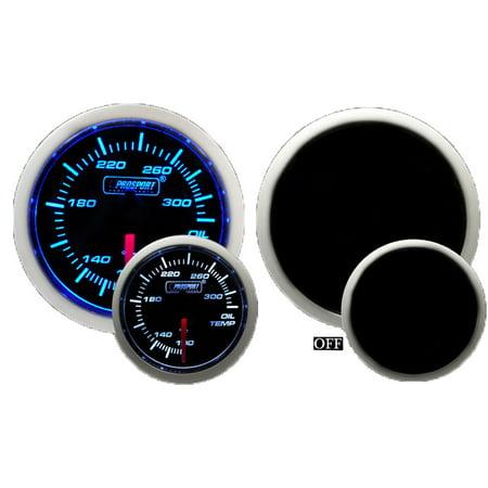 - Prosport Gauges 216BFWBOTSM.F 52 Millimeter Oil Temperature Gauge Electrical