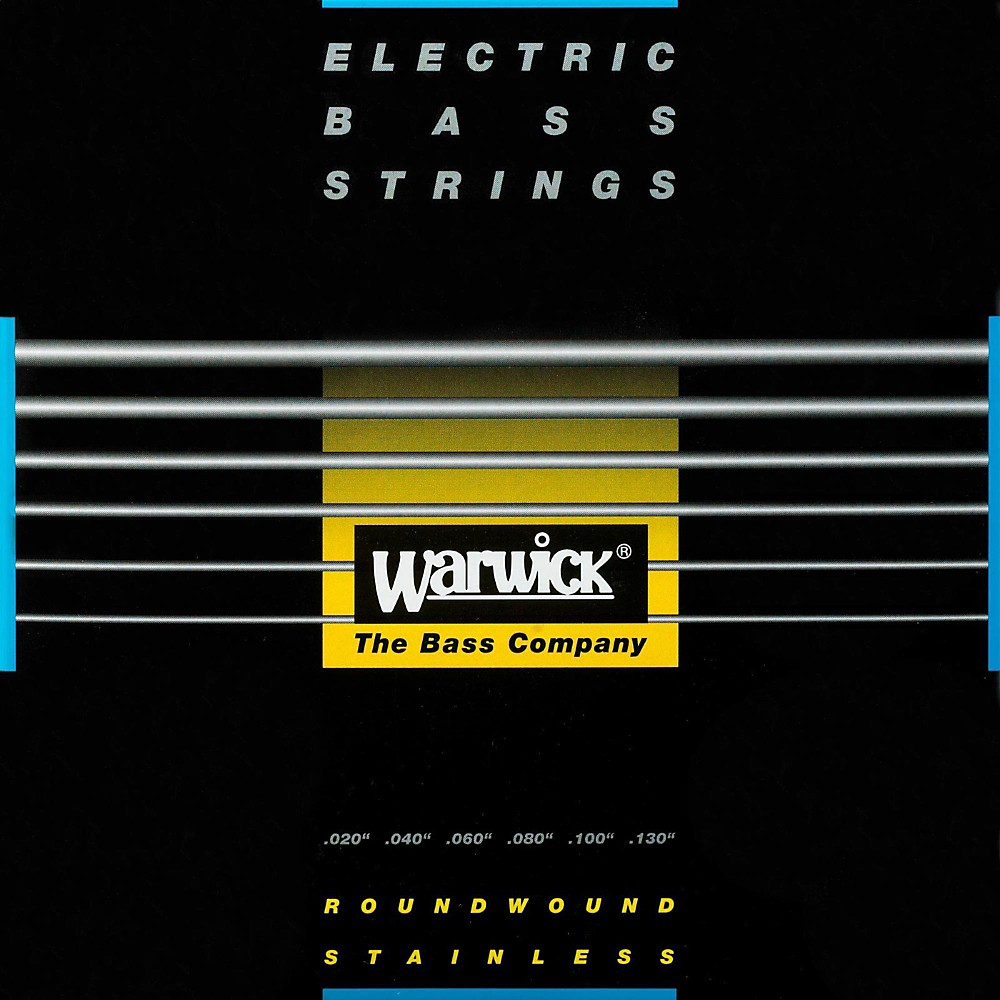 Warwick Black Label 6-String ML Nickel Bass Strings