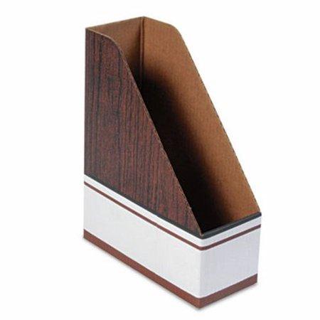 Bankers Box Cardboard Magazine File, 4 x 9 x 11 1/2, 12 Files (FEL07223)