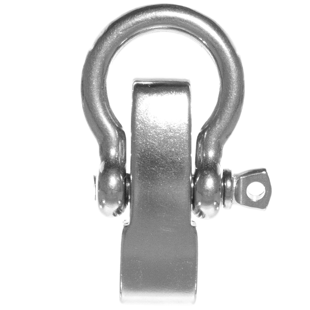 O-Shackles Pack and Single Sizes PARACORD PLANET Stainless Steel and Alloy B-Shackles D-Shackles U-Shackles for Paracord Survival Bracelets