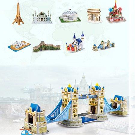Big Ben 3D Three-Dimensional Puzzle Educational Toys Children Puzzle - image 5 de 6