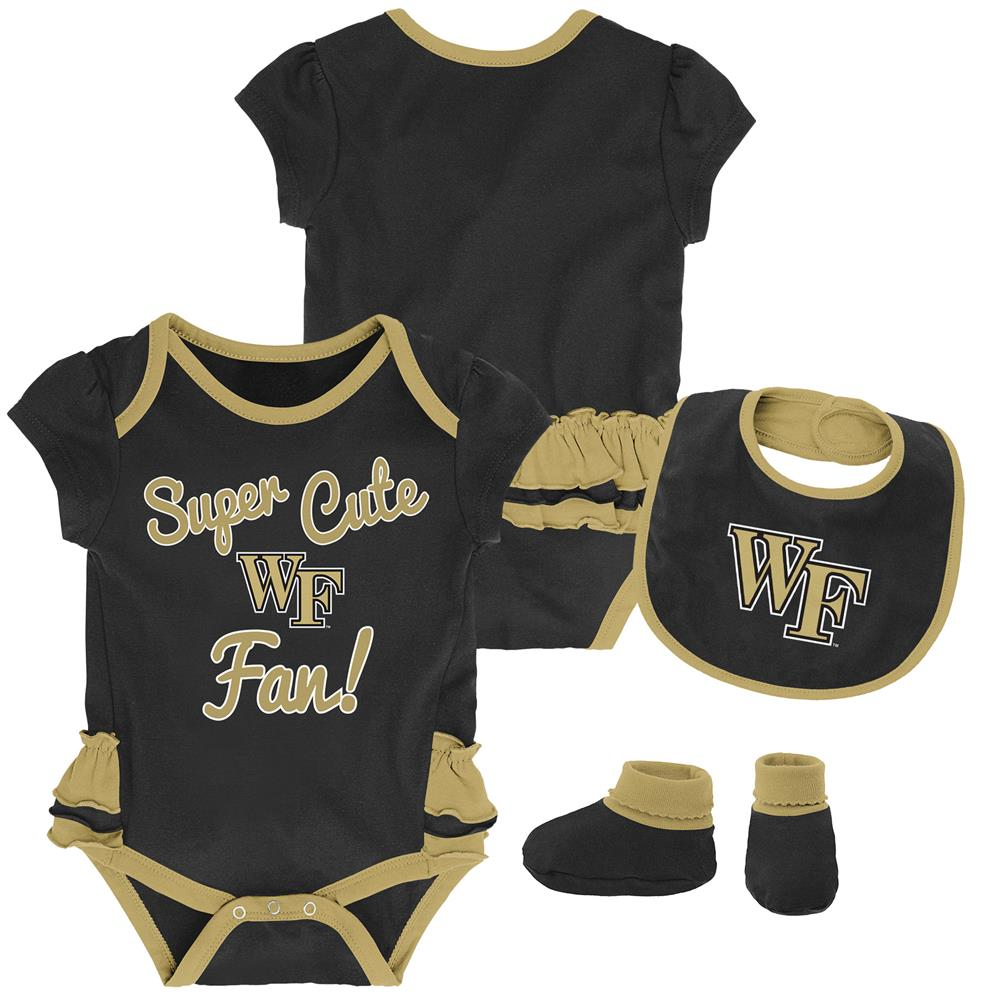 Outerstuff Infant Cleveland Cavaliers Creeper Set Baby Snapsuit Set