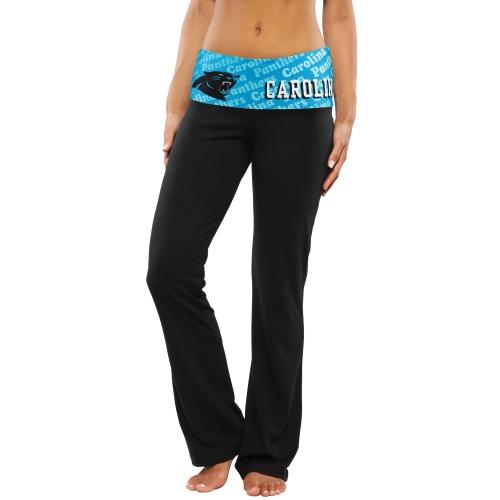 Carolina Panthers Women's Cameo Knit Pants - Black