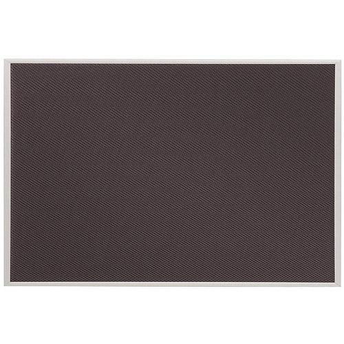Quartet Matrix Gray Fabric Bulletin Boards