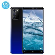 """Newly Upgraded Version Note30 Plus Global Version Smartphone 5.5 """"4800mah 8GB RAM 256GB ROM Android 10 1080 * 2320 Dual SIM Card 4G LTE Mobile Phone Gradient Black"""