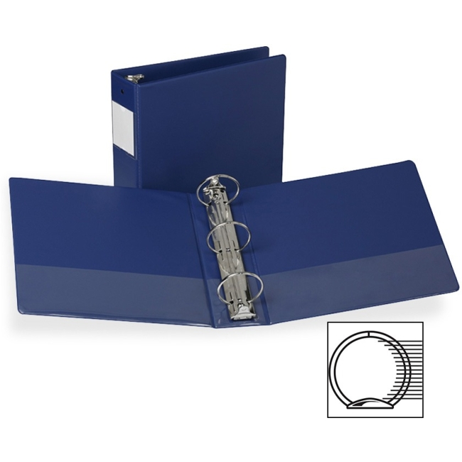 """Click here to buy Samsill Clean Touch Antimicrobial Rnd Ring Binders 3"""" Binder Capacity Letter 8 1 2"""" x 11"""" SHeet... by SAMSILL CORPORATION."""