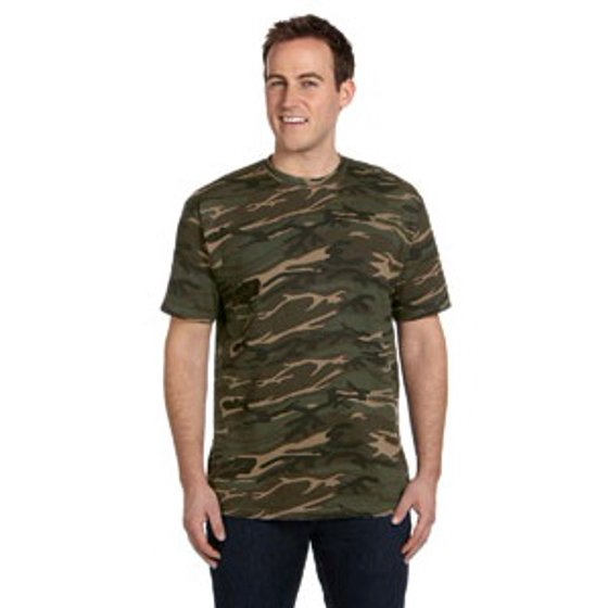 d05aaed9c50b97 Anvil - Anvil Midweight Camouflage T-Shirt - Walmart.com