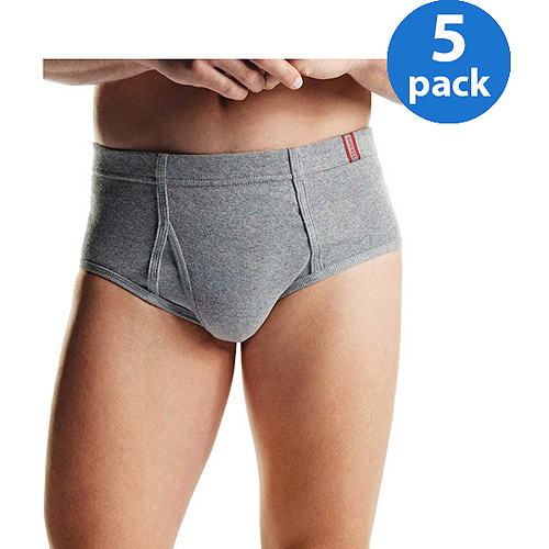 Hanes - Big Men's 5-Pack ComfortSoft Briefs, Size 2XL