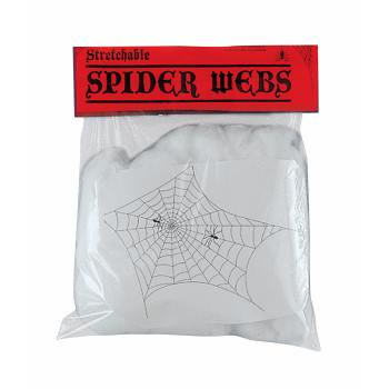 Giant Spider Webs-White 2Oz Halloween Decoration](Giant Spider Web Decoration Halloween)