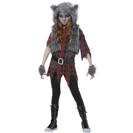 Werewolf Girl Child Costume (Ware Wolf Costume)