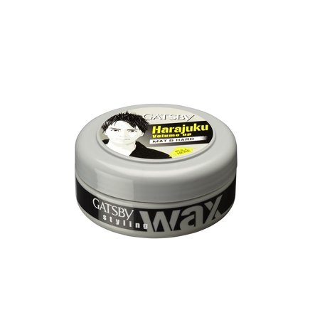 Gatsby Leather Styling Wax, Mat And Hard, 75g - Gatsby Deco