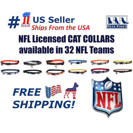 Pets First NFL Houston Texans Cat Collar ()