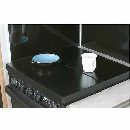 Camco Stove Top Cover, Black, Universal Fit