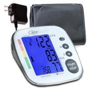 Care Touch Fully Automatic Upper Arm Blood Pressure Monitor - Platinum Series, Medium