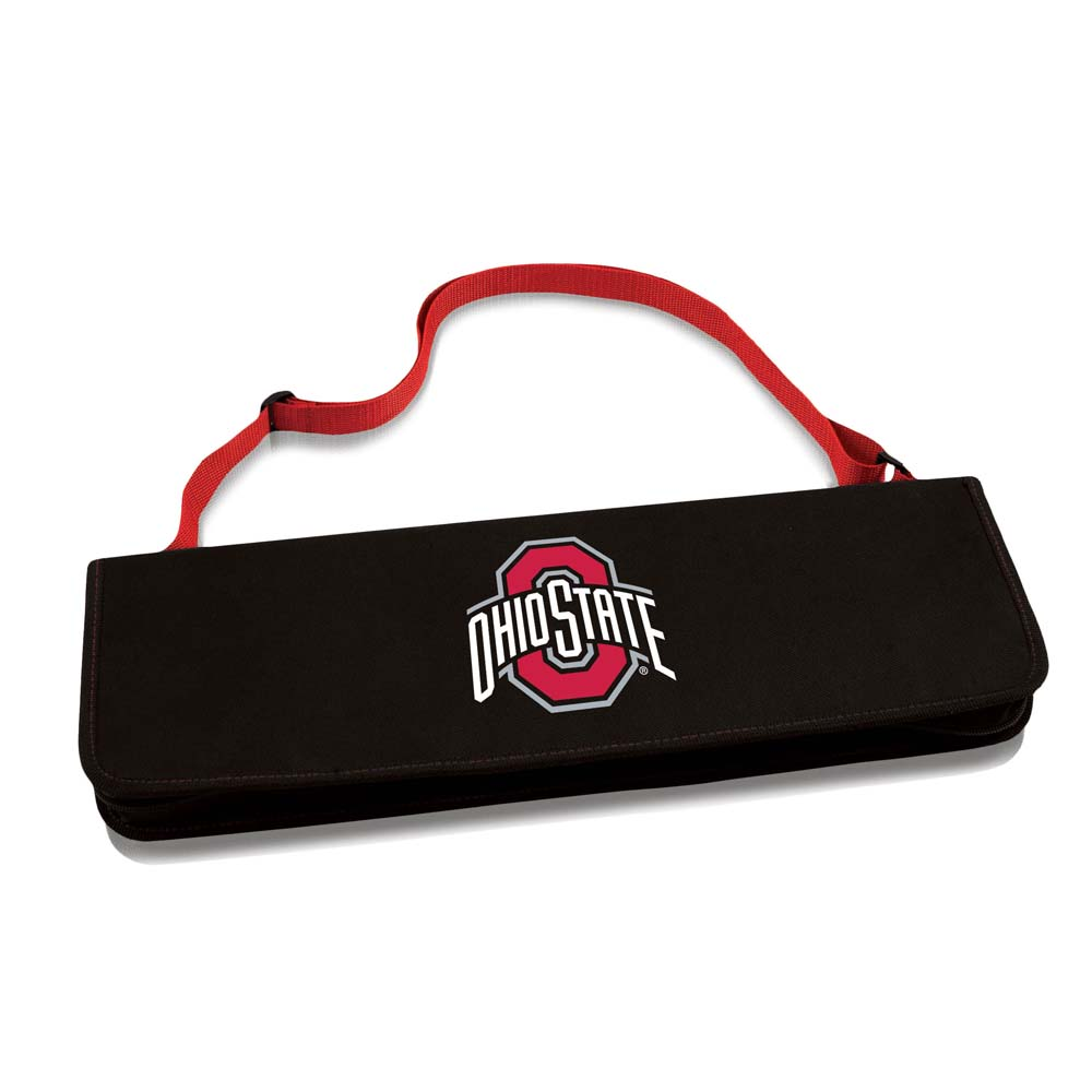 Click here to buy Ohio State Metro BBQ Tote (Red) by Picnic Time.