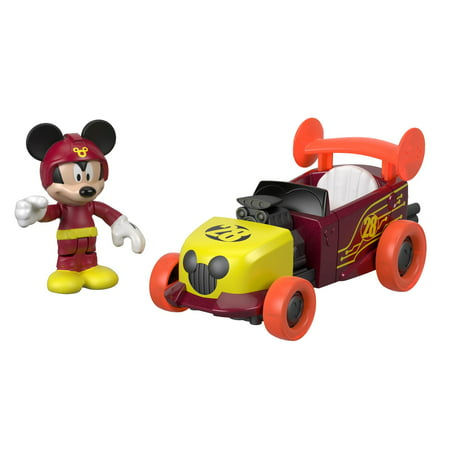 Hot Rod Racer (Disney Mickey & The Roadster Racers Mickey Mouse's 2-in-1 Hot Rod)