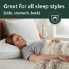 Rest Haven Shredded Memory Foam Pillow 2 Pack