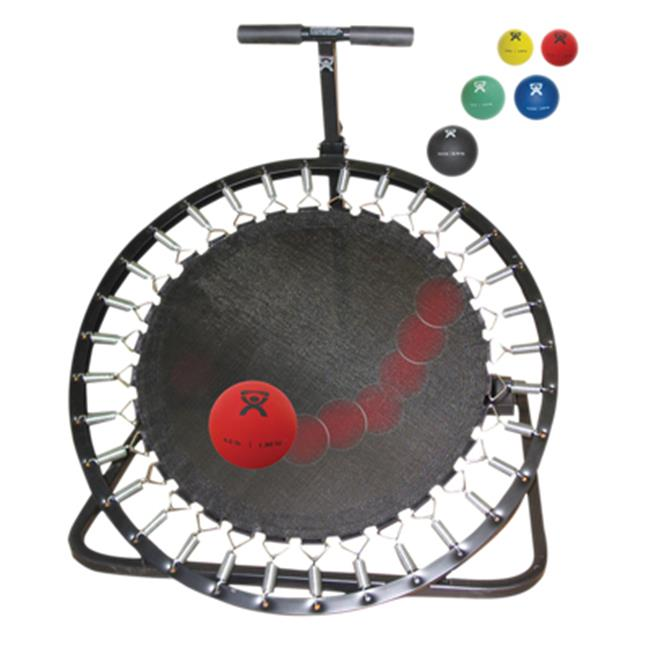 Fabrication Enterprises 10-3135 Round Rebounder Package with Horizontal Ball Rack & 5 Ball Set