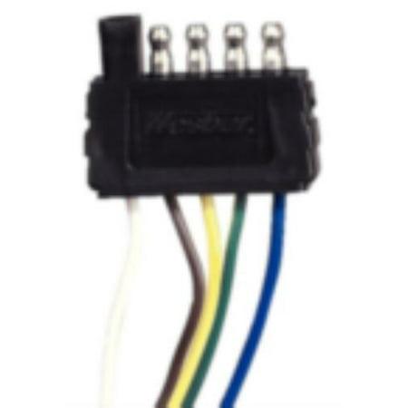 Wesbar 274-707283 5 wire flat trl connector 48 - Walmart.com