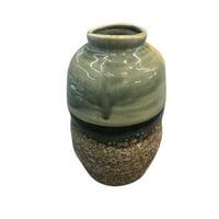 Up-Scaling Ceramic Decorative Vase, Multicolor