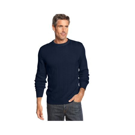- John Ashford Mens Ribbed Pullover Sweater
