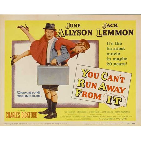You Can't Run Away From It - movie POSTER (Style A) (11