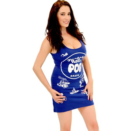 Tootsie Roll Pop Candy Juniors Tunic Tank Dress - Tootsie Roll Dress