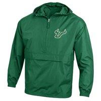 South Florida USF Bulls Packable Jacket Champion Wind Jacket