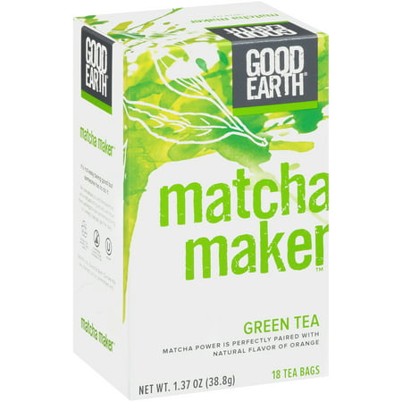 Good Earth Matcha Maker, Green Tea, Tea Bags, 18 Ct
