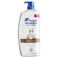Head and Shoulders Dandruff 2 in 1 Shampoo Conditioner Coconut, 32.1 oz